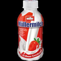 Müller Milch Erdbeer 1,5%,...