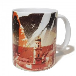 Tasse - Passau Collage rot