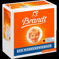 Brandt Markenzwieback, 225g