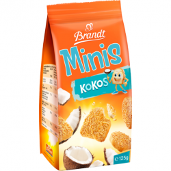 Brandt Mini Zwieback Kokos,...