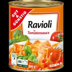 Gut & Günstig Ravioli in...