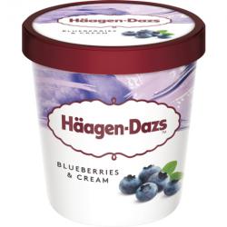 Häagen Dazs Blueberries...