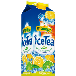 Pfanner Eistee Lemon-Lime, 2l