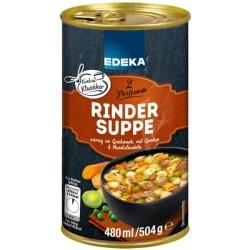Edeka Rindersuppe mit...