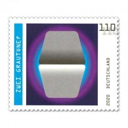 Zwei Grautöne?, Briefmarke...