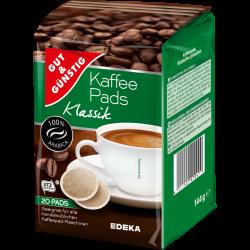 Gut & Günstig Kaffeepads...