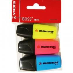 Stabilo Boss MINIpop, 3 St.