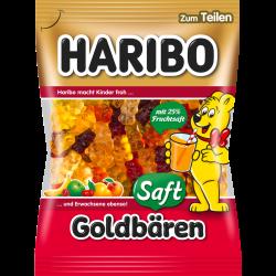 Haribo Saftgoldbären, 175g
