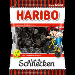 Haribo Lakritz Schnecken, 200g