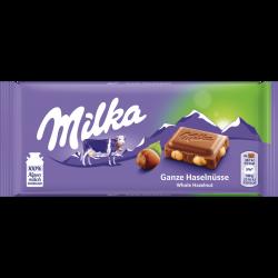 Milka ganze Haselnuss, 100g