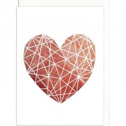 Grußkarte - Herz