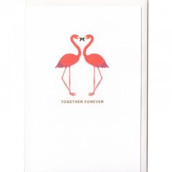 Grußkarte - Together Forever