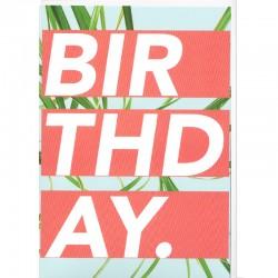 Grußkarte - Birthday.