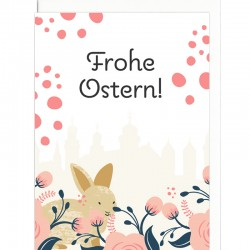 Grußkarte - Bunny in Passau