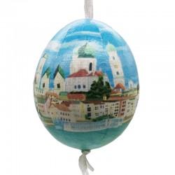Deko-Ei - Passauer Altstadt farbig