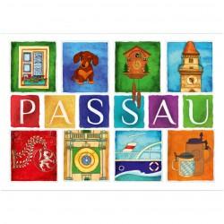 Postkarte - Passauer...