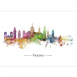 Postkarte - the colors of...