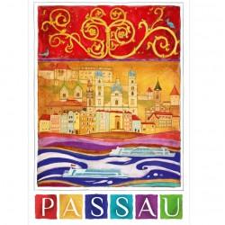 Postkarte - Romantisches...