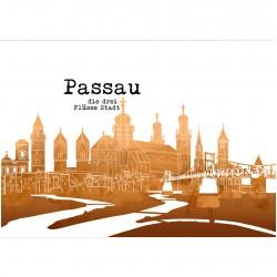 Postkarte - Café Passau