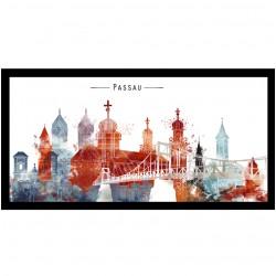 Postkarte - Passau Tri