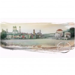 Postkarte - das Venedig...
