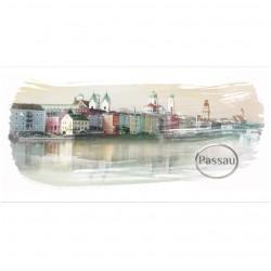 Postkarte - Venedig an der...