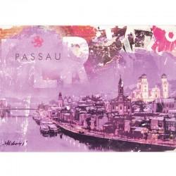 Postkarte - Totem Skyline...