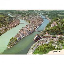 Postkarte - Passau und die...