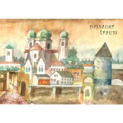 Postkarte - Passauer Traum