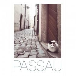 Postkarte - Katzengasse