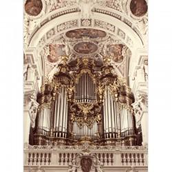 Postkarte - Passauer Domorgel