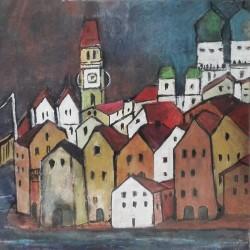 Acrylbild - Passau