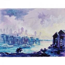 Acrylbild - Purple Passau