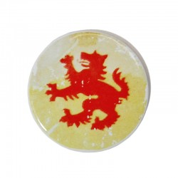 Keramikmagnet - Passauer Wolf
