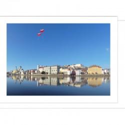 Grußkarte - verliebt in Passau