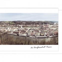 Grußkarte - Passau total