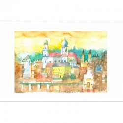Fine Art Print - Goldenes...