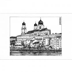 Fine Art Print - Dom sw