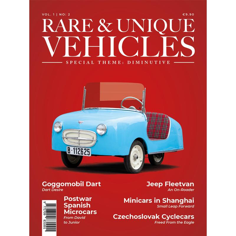 Zeitschrift - Rare & unique vehicles Nr. 02