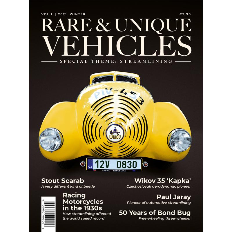 Zeitschrift - Rare & unique vehicles Nr. 01