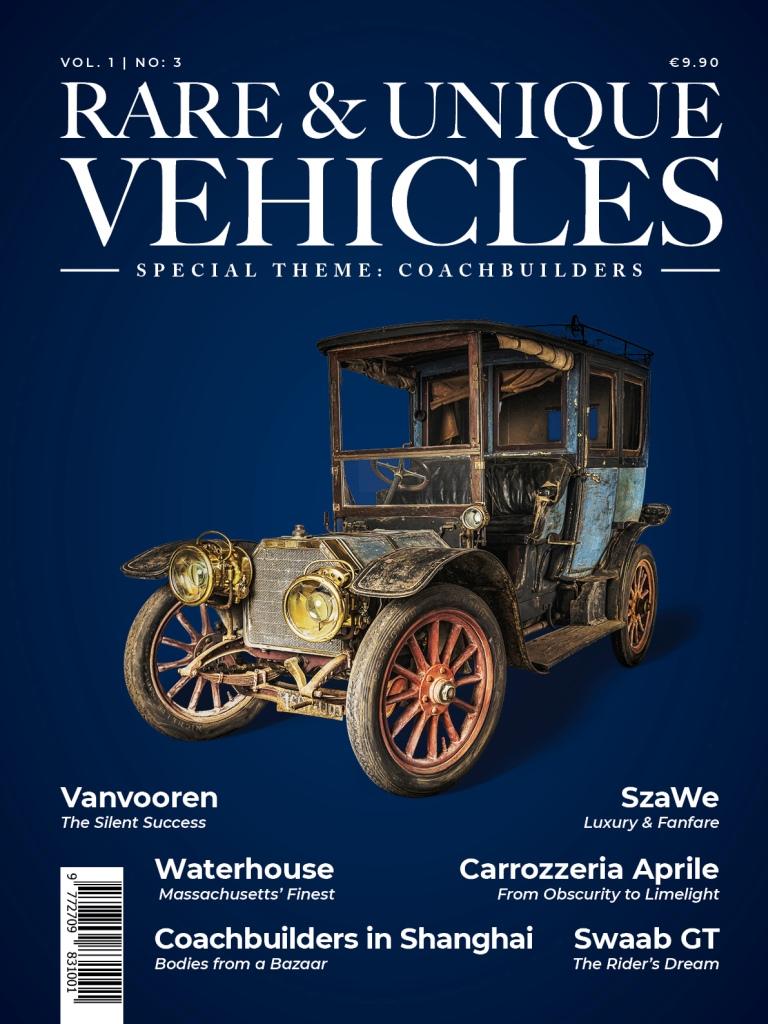 Zeitschrift - Rare & unique vehicles Nr. 03